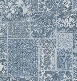 Dutch Wallcoverings Restored Vintage Carpet - Blauw 24059