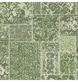 Dutch Wallcoverings Restored Vintage Carpet - Groen 24061