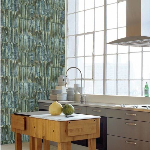 Restored Patina Panels - Blauw/groen
