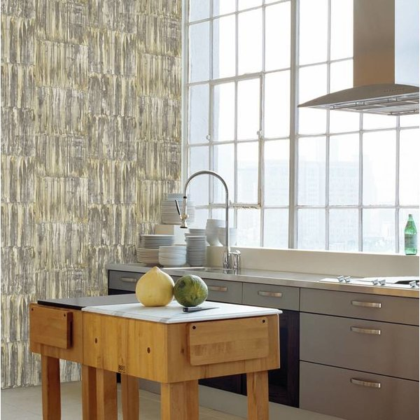 Restored Patina Panels - Beige/groen