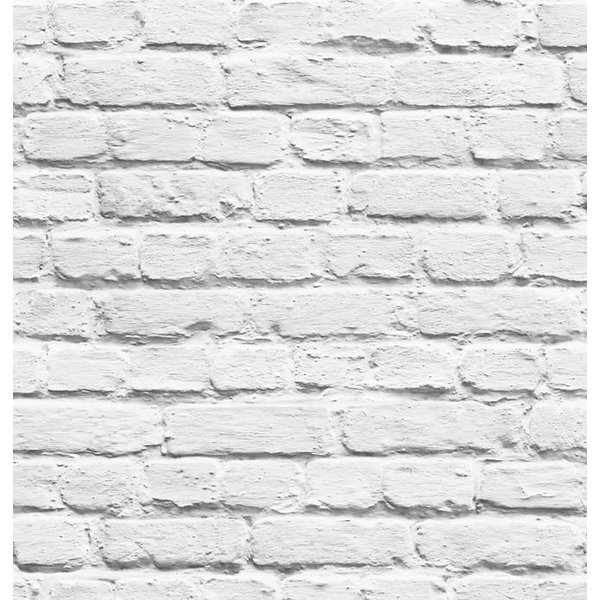 Dutch Wallcoverings Freestyle Steenstrip wit