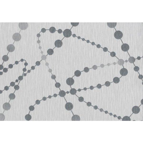 Dutch Wallcoverings San Priamo dots grijs