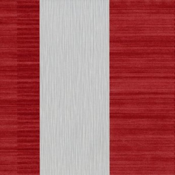 Dutch Wallcoverings San Priamo streep rood/grijs