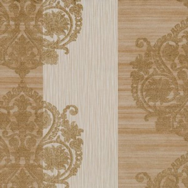 Dutch Wallcoverings San Priamo ornament/str. beige