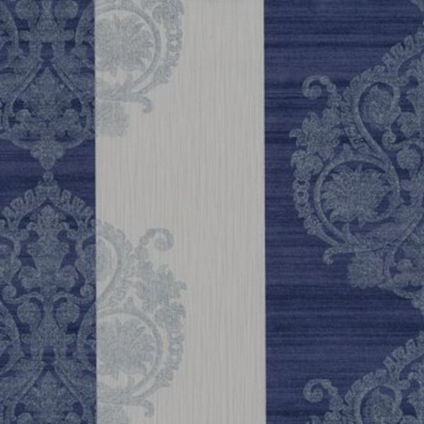 Dutch Wallcoverings San Priamo ornament/str. lila/gr