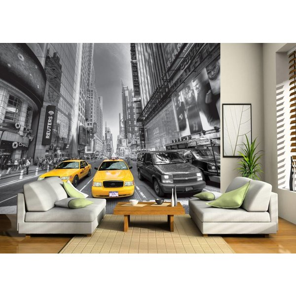 Dutch Wallcoverings AG Design Yellow Cab 4D