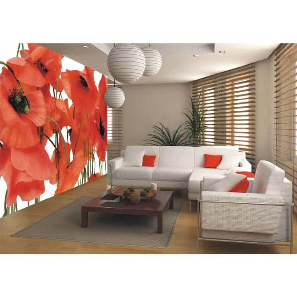 Dutch Wallcoverings AG Design Wild Poppies 4D