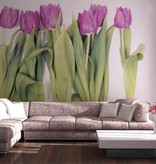 Dutch Wallcoverings AG Design Violet Tulips Big 4D