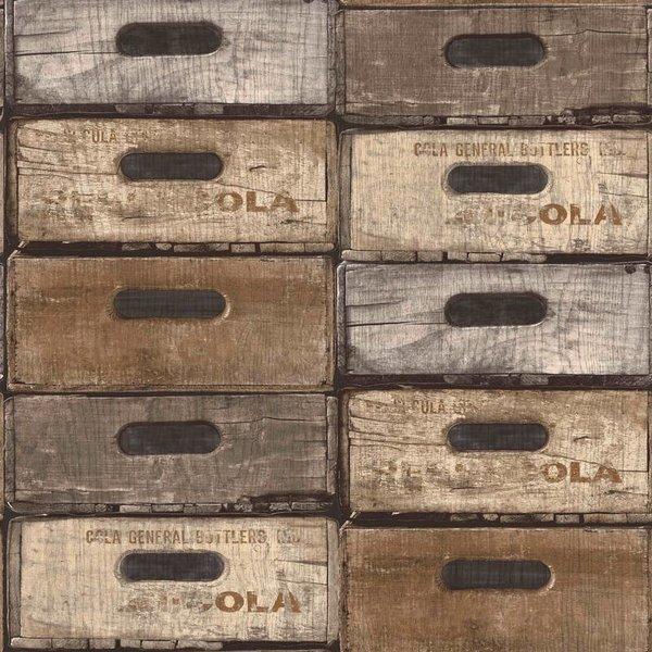 Dutch Wallcoverings Exposed Warehouse laden beige