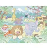 Dutch Wallcoverings Walltastic Baby Jungle Safari 12 delig