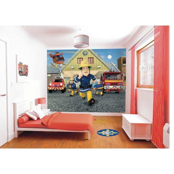 Dutch Wallcoverings Walltastic Fireman Sam fotobehang