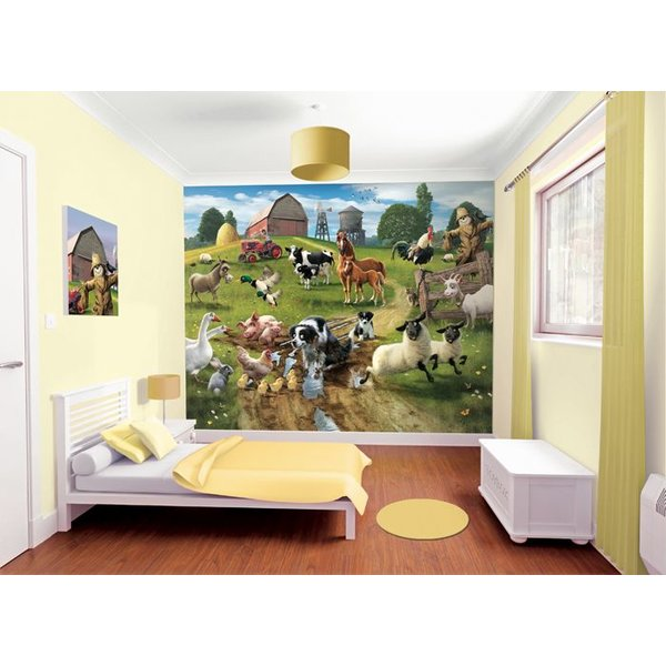 Dutch Wallcoverings Walltastic Farmyard Fun fotobehang
