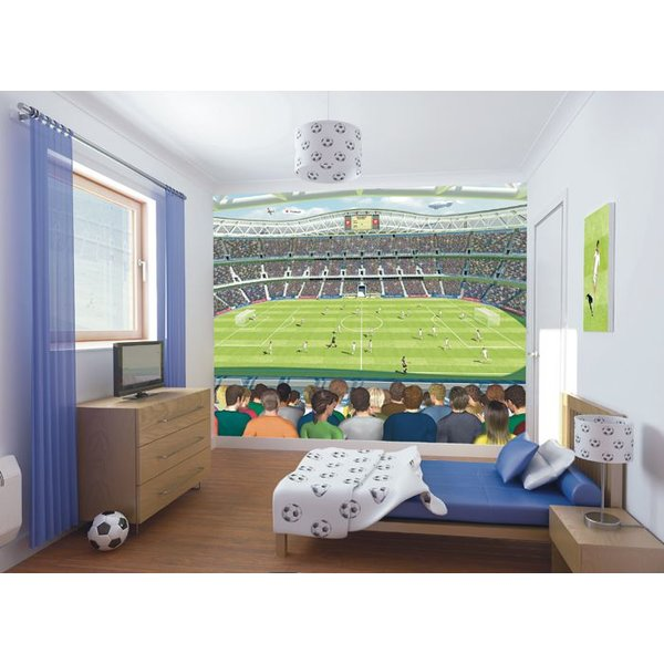 Dutch Wallcoverings Walltastic Football Crazy fotobehang