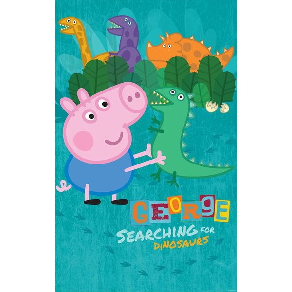Dutch Wallcoverings Walltastic George Pig fotobehang