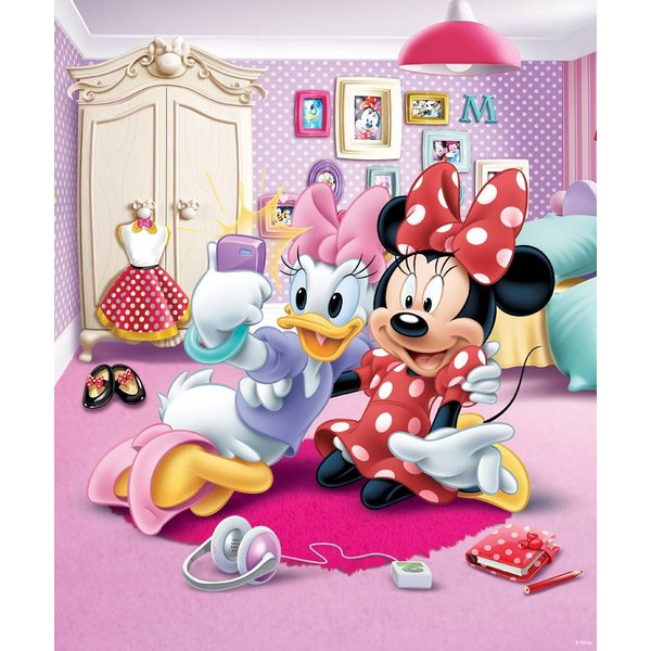 Dutch Wallcoverings Walltastic Disney Minnie Mouse 8 delig