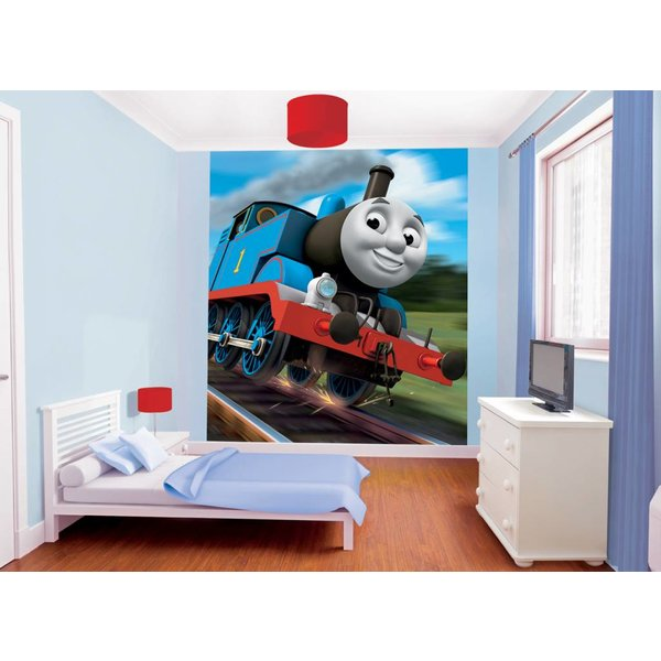 Dutch Wallcoverings Walltastic Thomas the Tank fotobehang