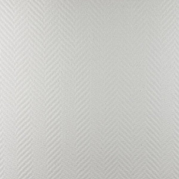 Dutch Wallcoverings Glasweefselbehang - Visgraat grof – Voorgeschilderd - 25 m2