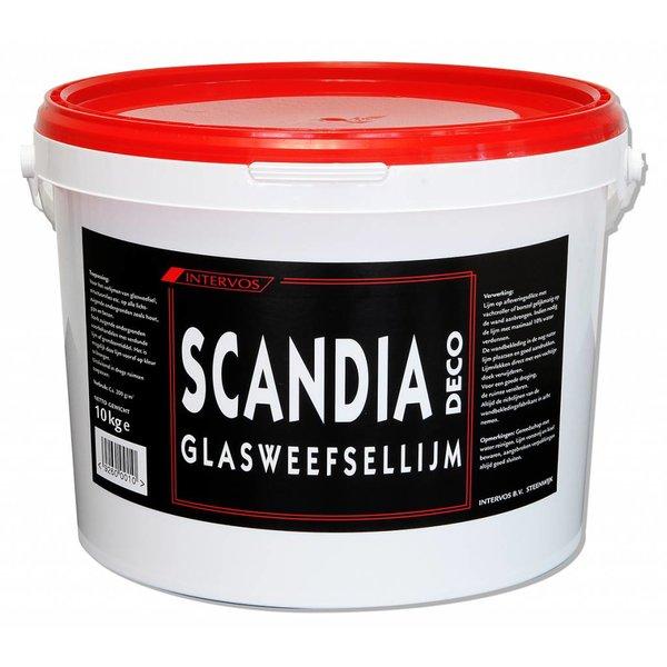 Scandia Glasweefsellijm 10 kg - 50m2