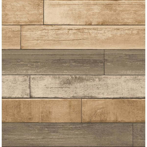 Dutch Wallcoverings Reclaimed verweerd hout taupe