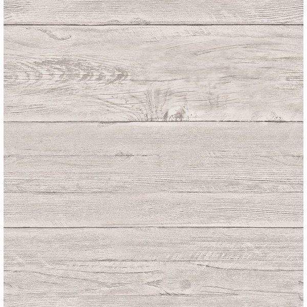 Dutch Wallcoverings Reclaimed houten planken behang beige