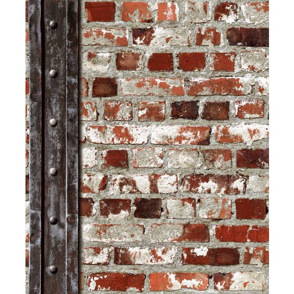 Dutch Wallcoverings Freestyle Baksteen metaal