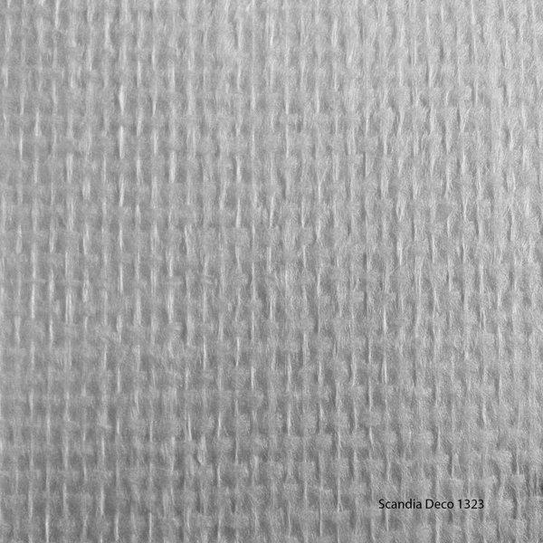 Scandia Glasweefselbehang - Deco 1323 – Niet Voorgeschilderd – Ruit - 1m2