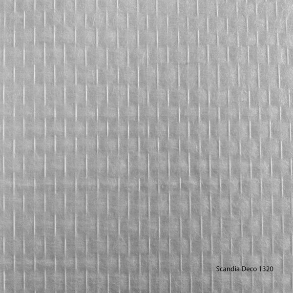 Scandia Glasweefselbehang - Deco 1320 – Niet Voorgeschilderd – Ruit - 1m2