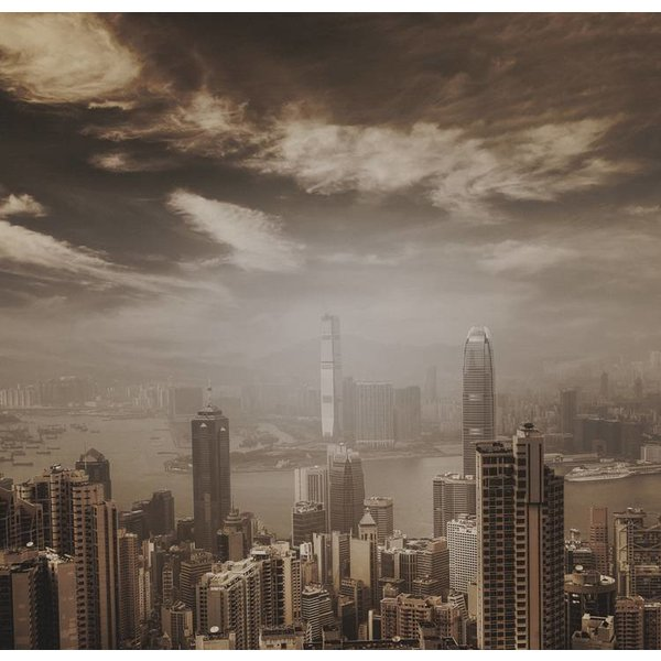 Dutch Wallcoverings City Love Hong Kong vint. 6-d