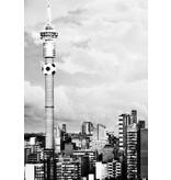 Dutch Wallcoverings City Love Johannesburg z/w 4-d