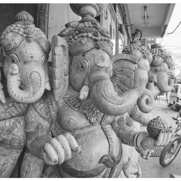Dutch Wallcoverings City Love Delhi z/w 6-d