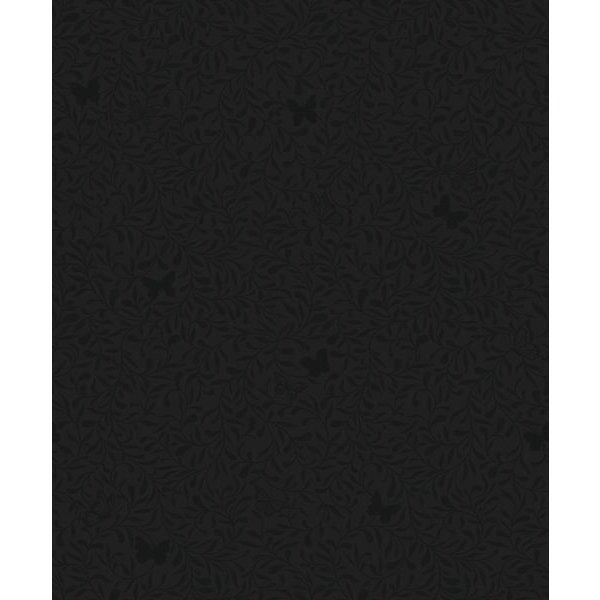 Dutch Wallcoverings Soft & Natural Dessin zwart glitter