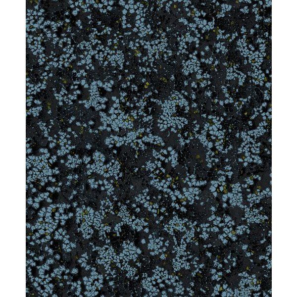 Dutch Wallcoverings Soft & Natural Dessin donkerblauw