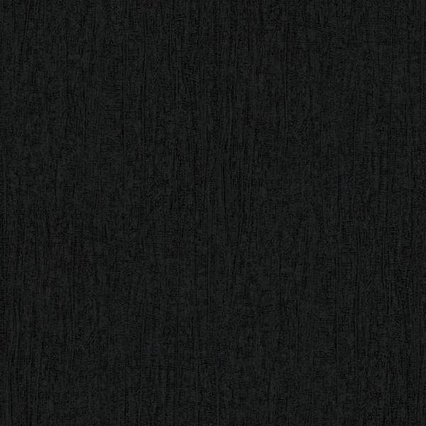 Dutch Wallcoverings Soft & Natural Uni zwart