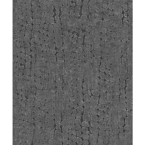 Dutch Wallcoverings Soft & Natural Croco grijs