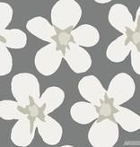 Noordwand Cozz Smile big flower grijs off-white 61172-06