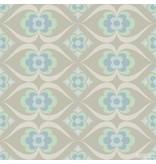 Noordwand Cozz Smile retro beige blauw mint 61167-05