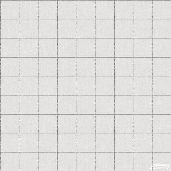 Noordwand Deauville blokken grijs linnen