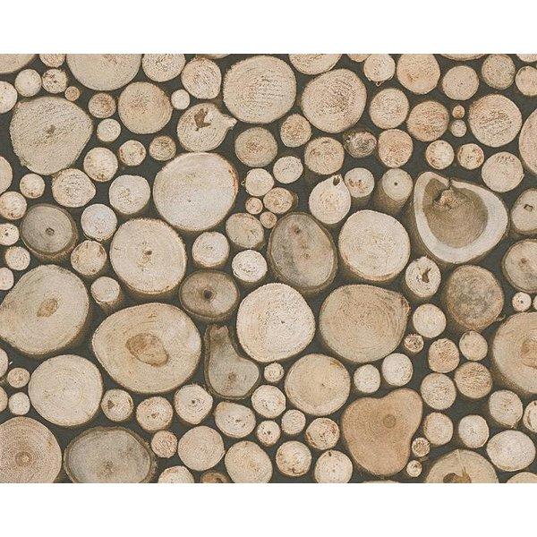A.S. Creation Dekora Natur boomstammen 95836-1