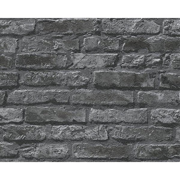 A.S. Creation Dekora Natur baksteen zwart