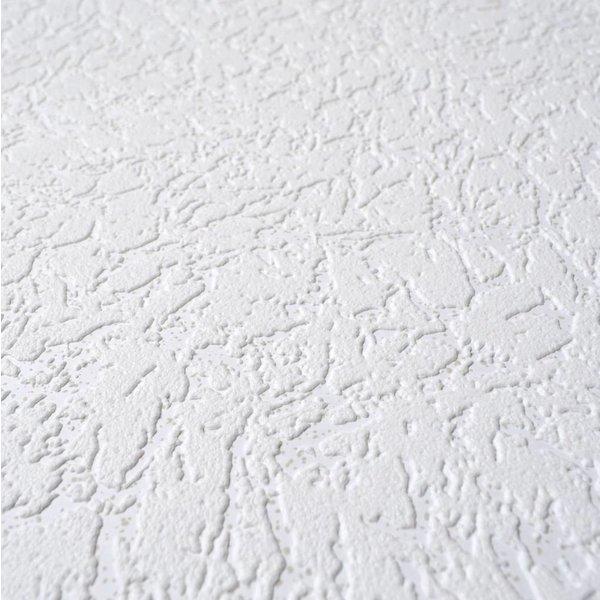 Dutch Wallcoverings Royal Dutch 7 schuimvinyl wit met grijs