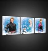 Dutch Wallcoverings Canvas set Frozen 1733S13
