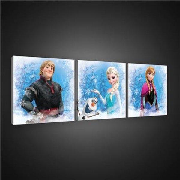 Canvas set Frozen 1733S13