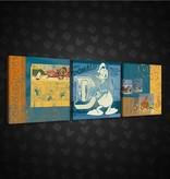 Dutch Wallcoverings Canvas set Disney Donald Duck 1997S13