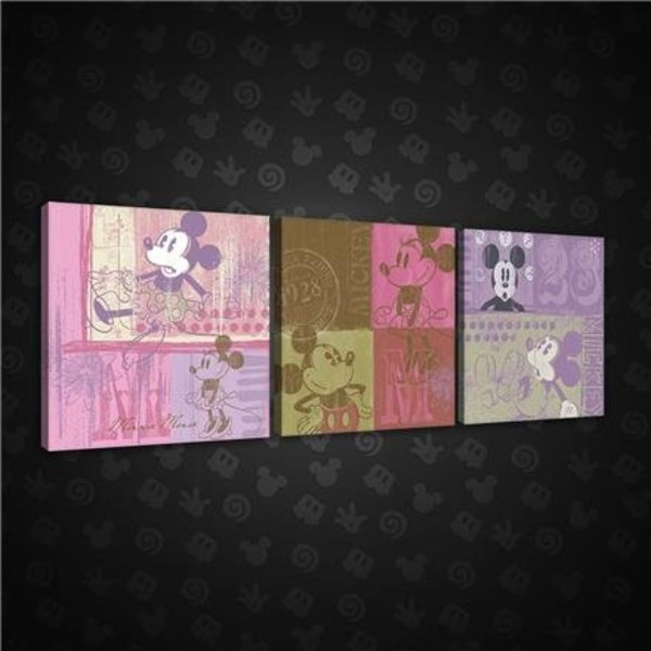 Canvas set Disney Mickey 1998S13