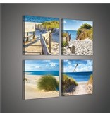 Dutch Wallcoverings Canvas set Strand 2010S20
