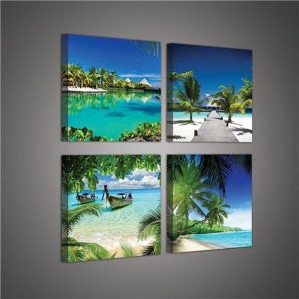 Dutch Wallcoverings Canvas set Strand 2012S20