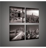 Dutch Wallcoverings Canvas set New York City 2017S20