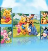 Dutch Wallcoverings Canvas set Disney Winnie the Pooh 2163S14