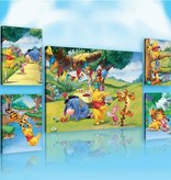 Dutch Wallcoverings Canvas set Disney Winnie the Pooh 2175S14