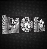 Dutch Wallcoverings Canvas set Disney Mickey 1996S13